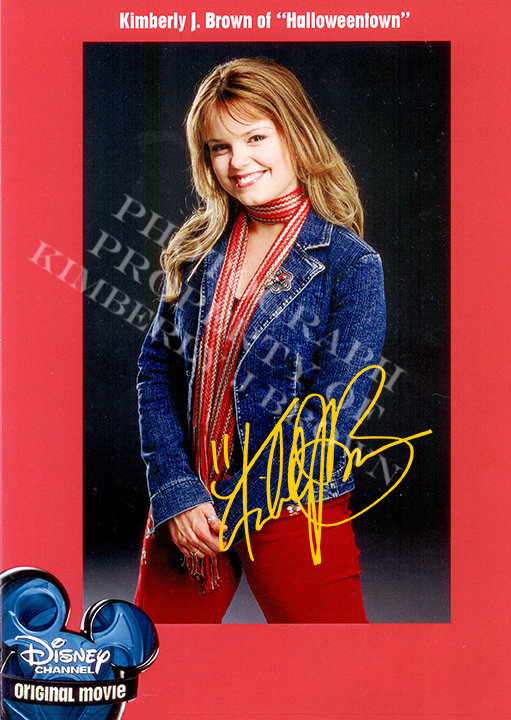 Marnie signed headshot