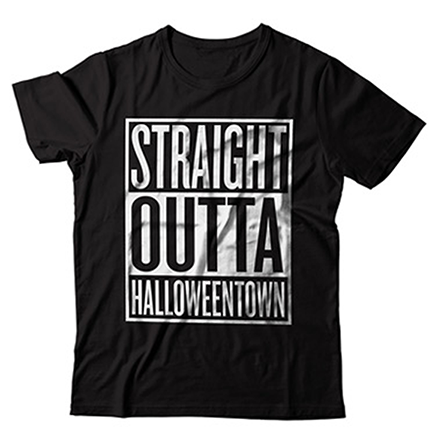 Straight Outta Halloweentown t-shirt